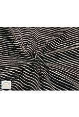 Qjutie Collection Baumwolljersey streifen schwarz