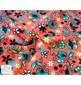 Megan Blue Fabrics Megan blue tricot