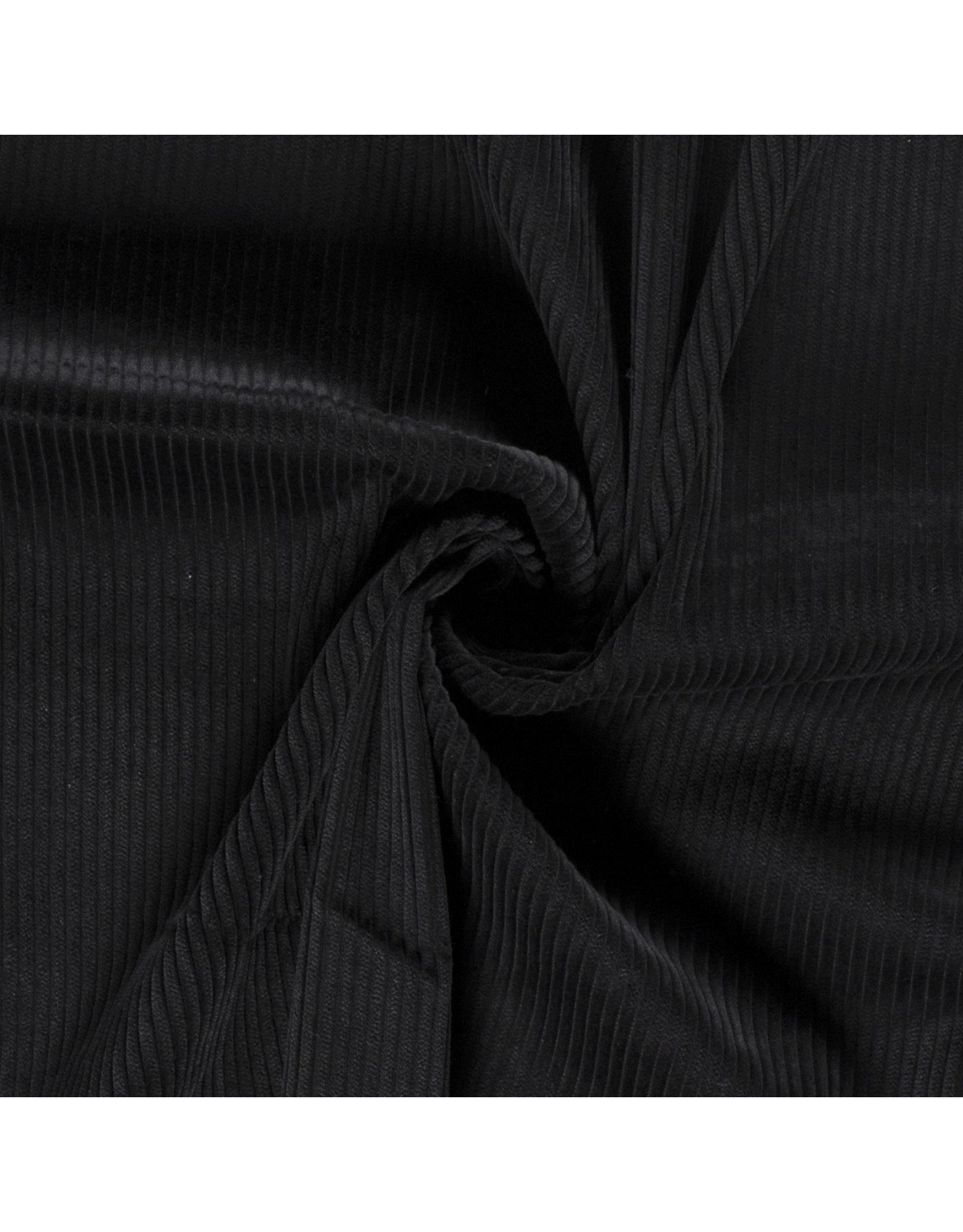 Cotton Corduroy Black