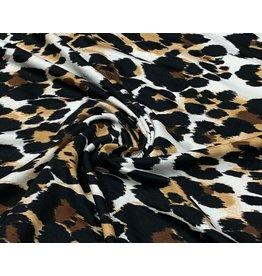Viskose Jersey leopard