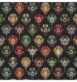 B&B Fabrics Gobelin Premium - Peacock Feather unity