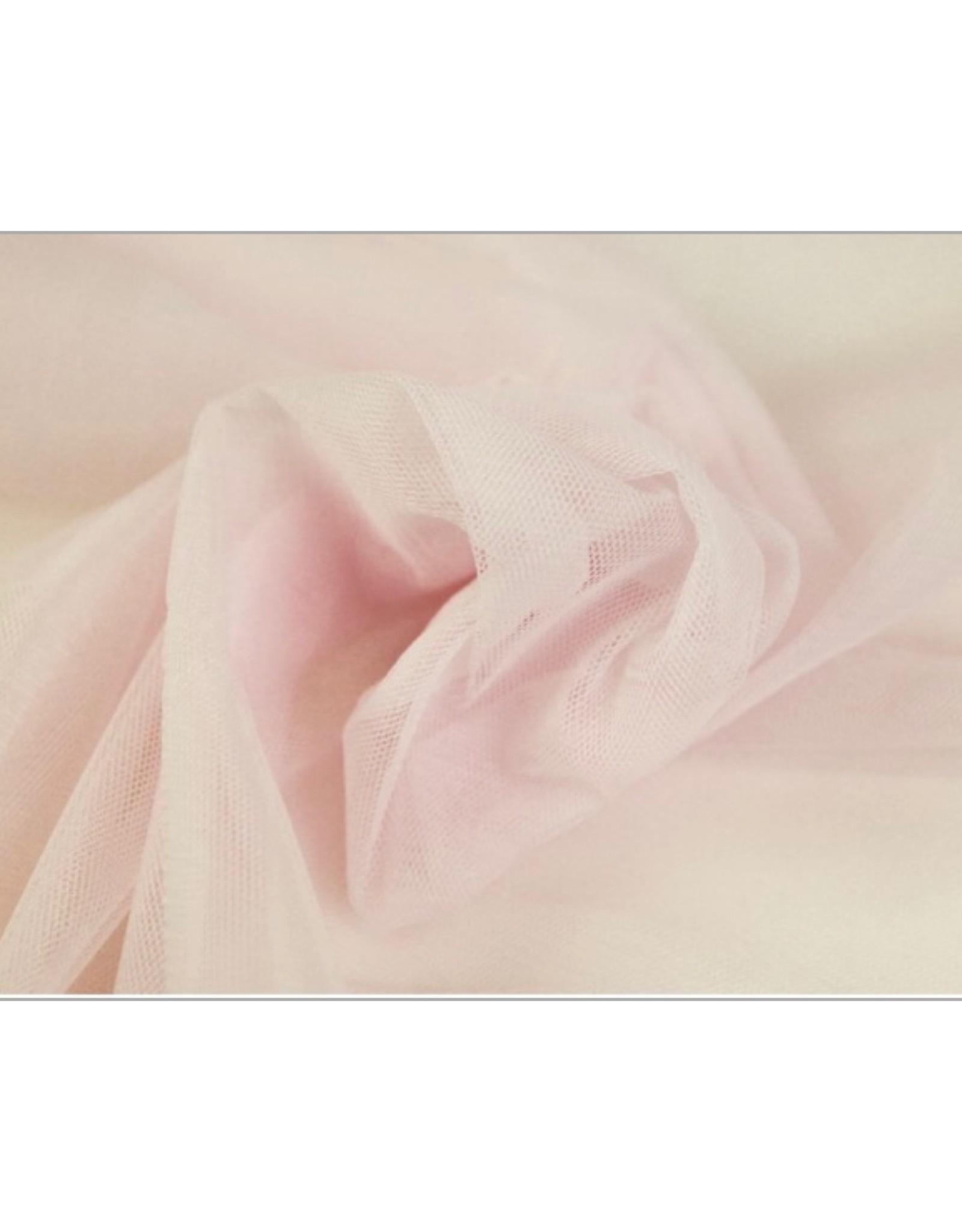 Soft Mesh Tule - Light Pink