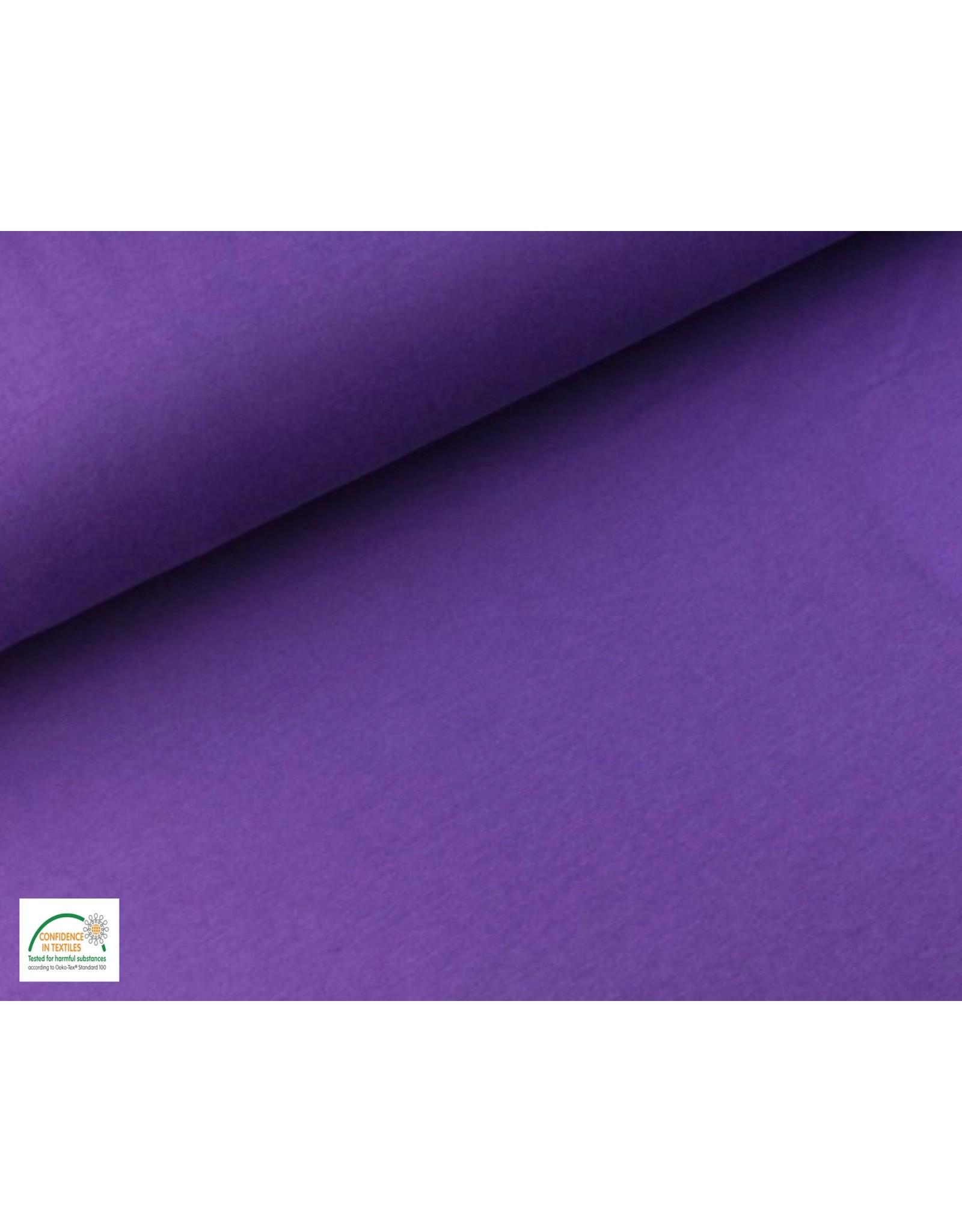Joggingstoff - Violett