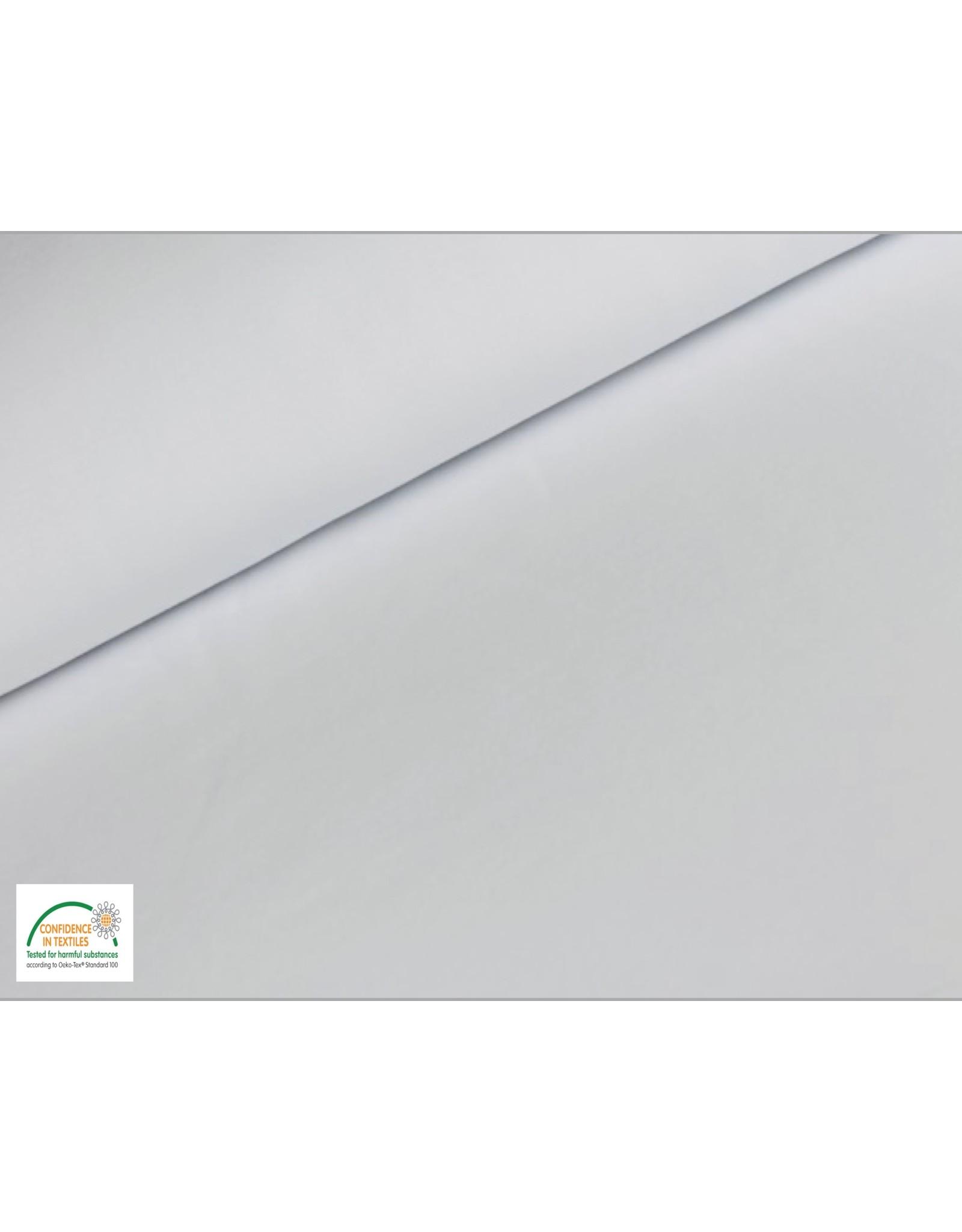 Joggingstoff - Weiß