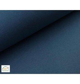 Joggingstoff - Jeans Melange
