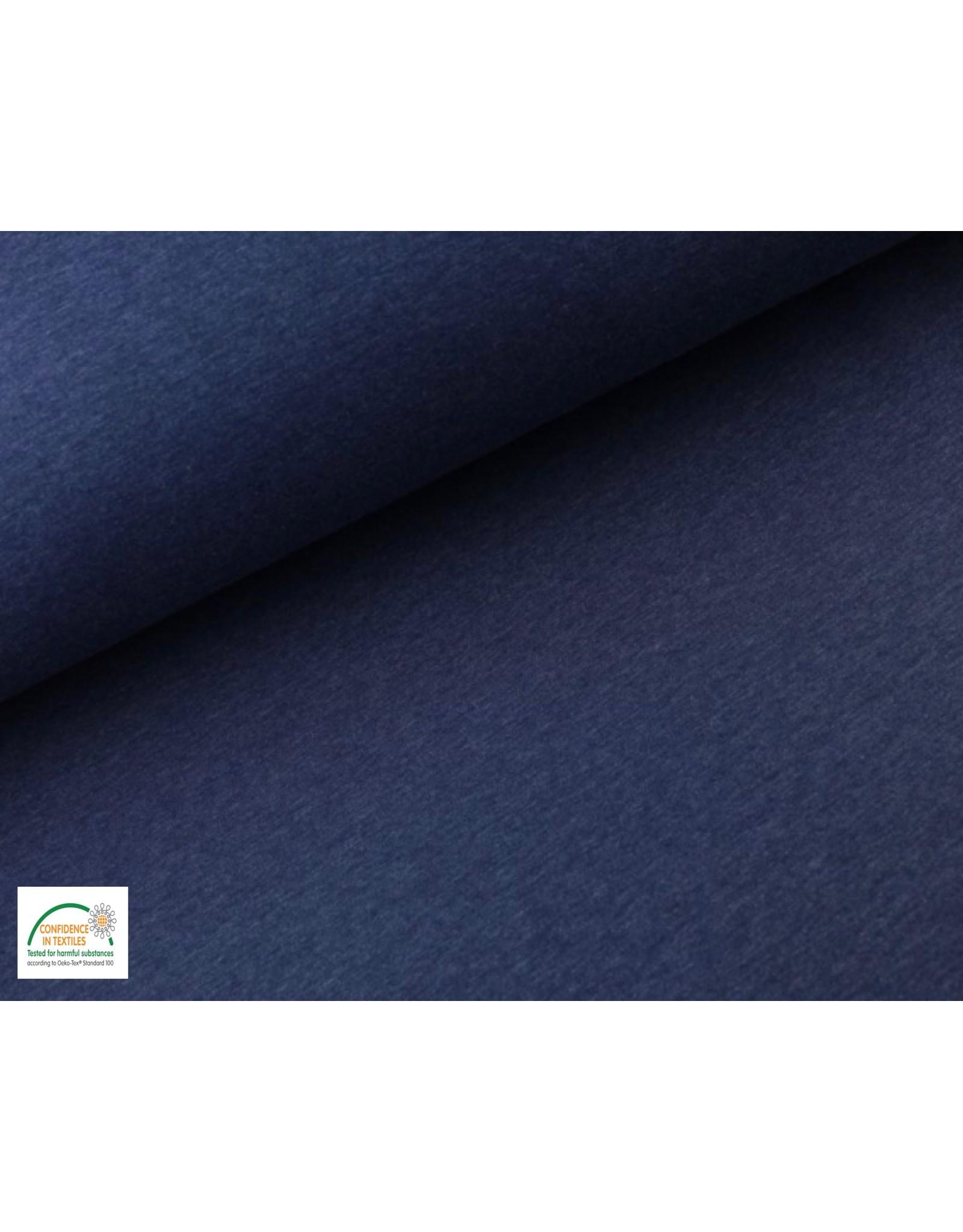 Jogging fabric - Dark Jeans Melange