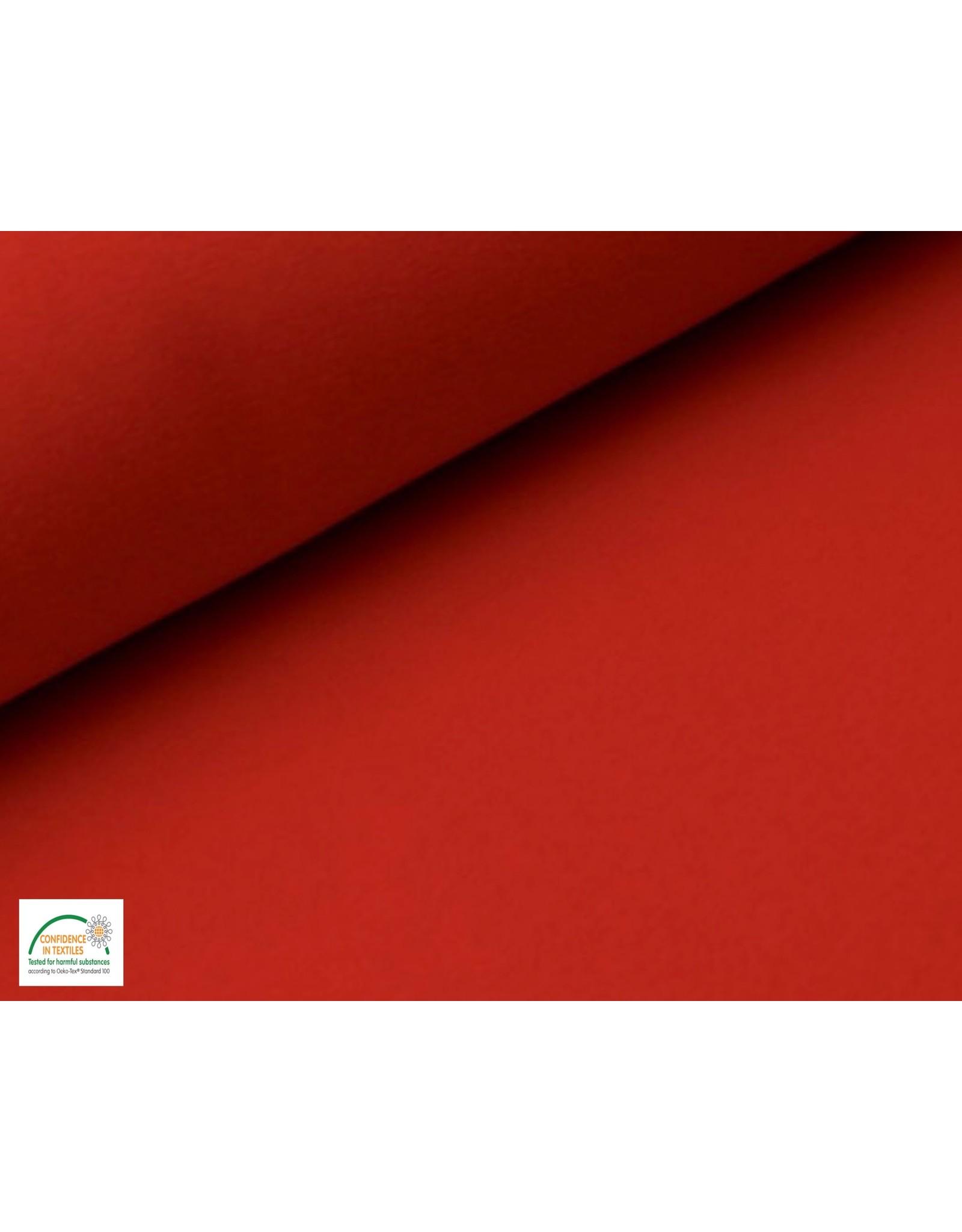 Joggingstoff - Rot