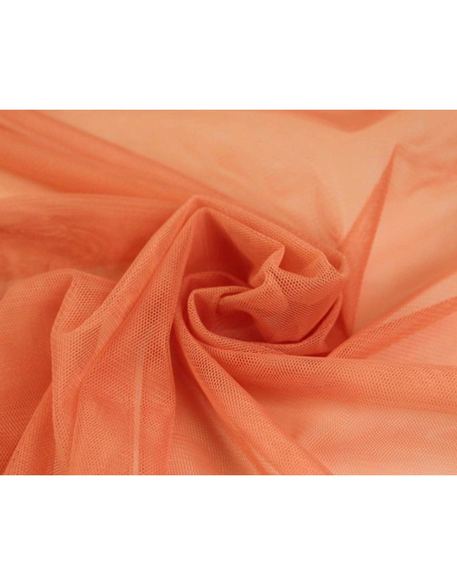 Soft Mesh Tule - Coral