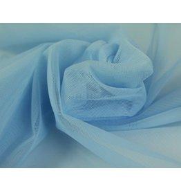 Soft Mesh Tule - ijsblauw