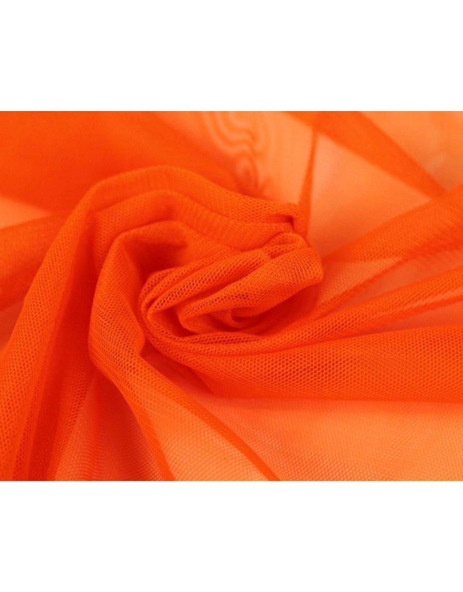 Soft Mesh Tule - Oranje