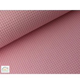 Waffelpiqué Baumwolle Baby Pink
