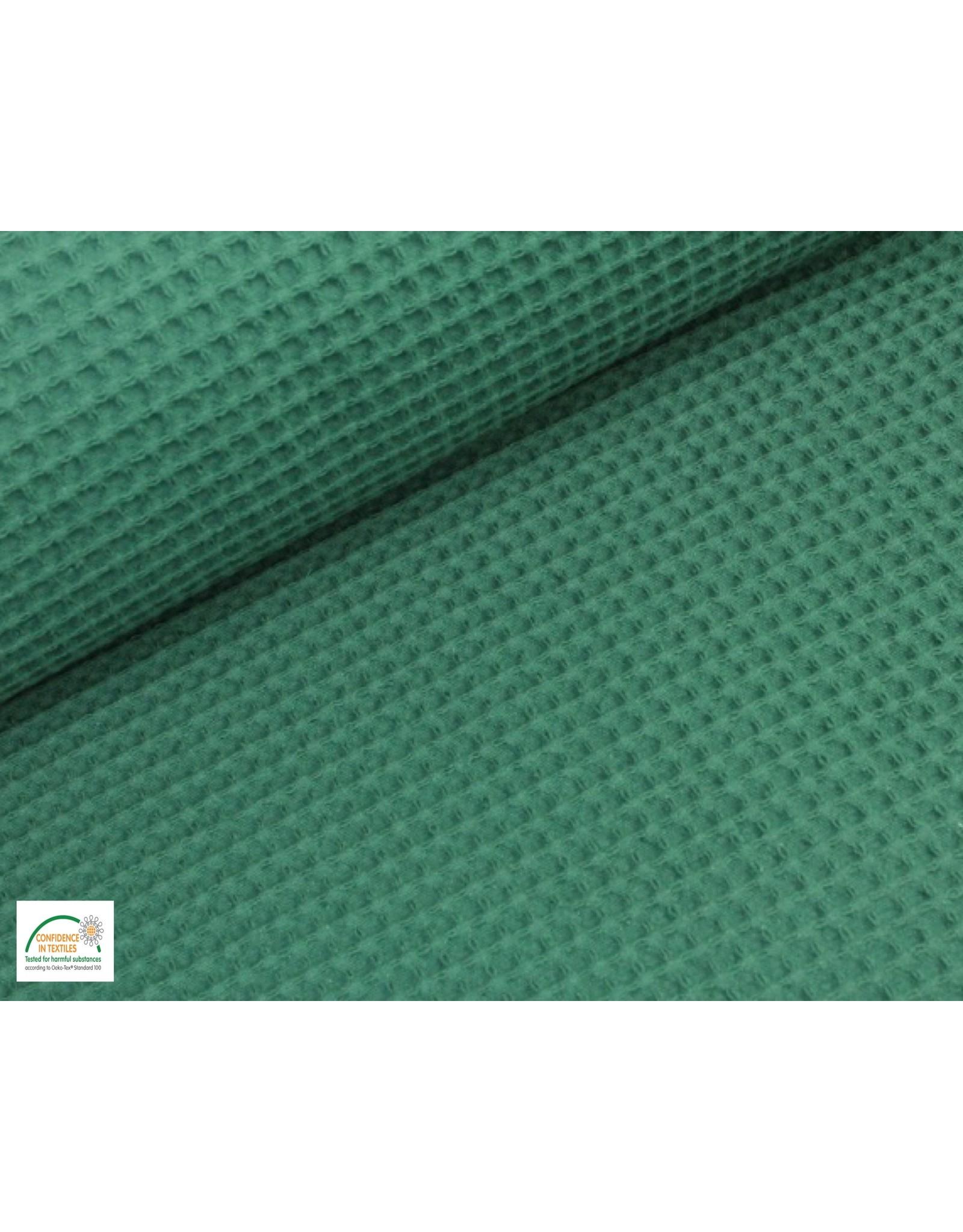 Wafelkatoen Emerald Jade