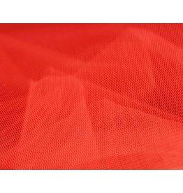 Uni Tüllstoff - Rot