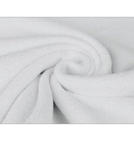 Sherpa Fleece Baumwolle - Weiß