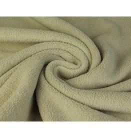 Sherpa Fleece Baumwolle sand