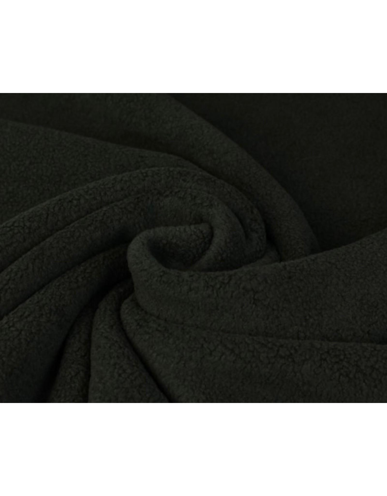 Sherpa Fleece Katoen Zwart