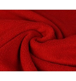 Sherpa Fleece Cotton - Red