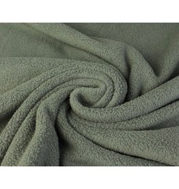 Sherpa Fleece Baumwolle - Grau
