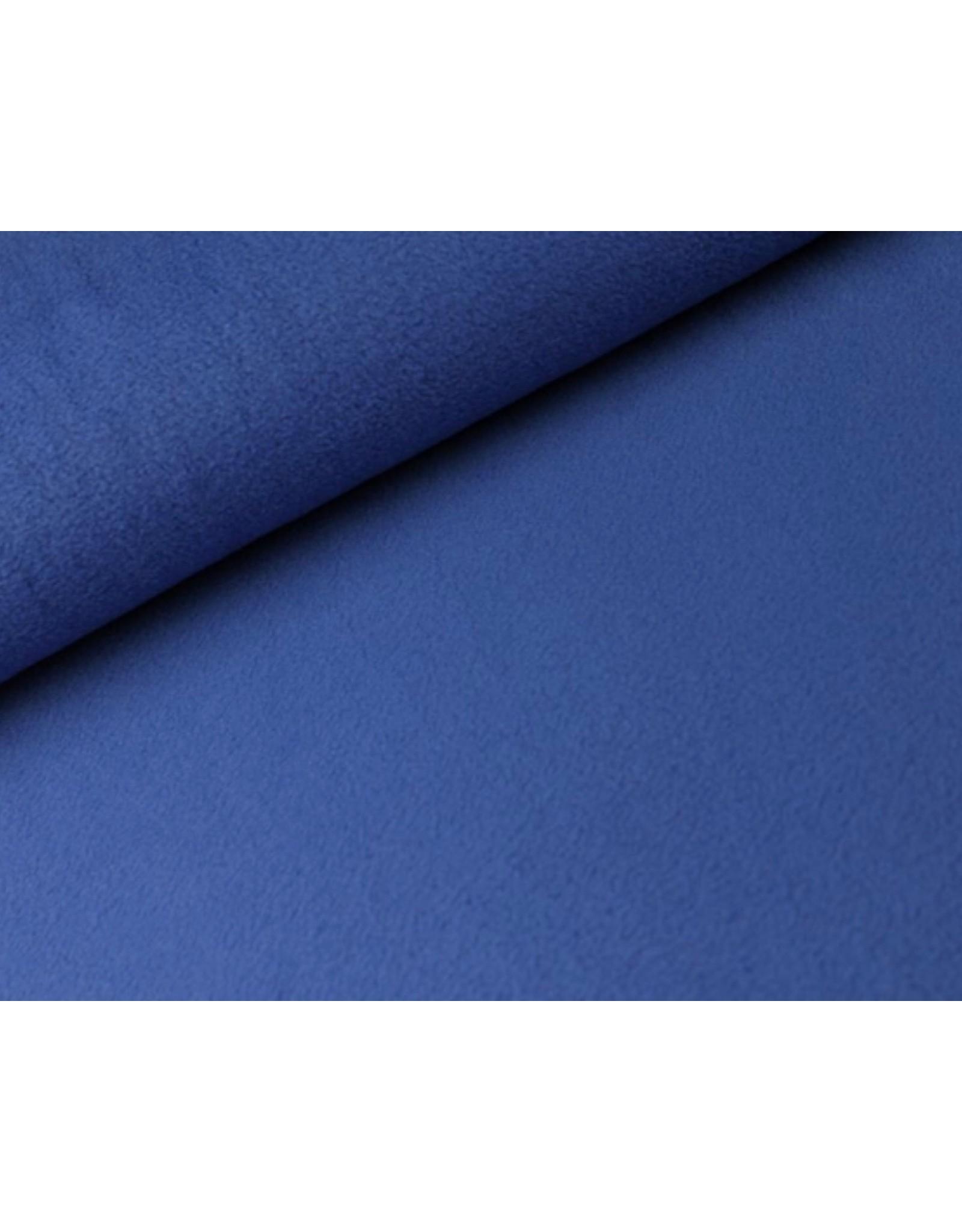 Polar Fleece stof Kobalt