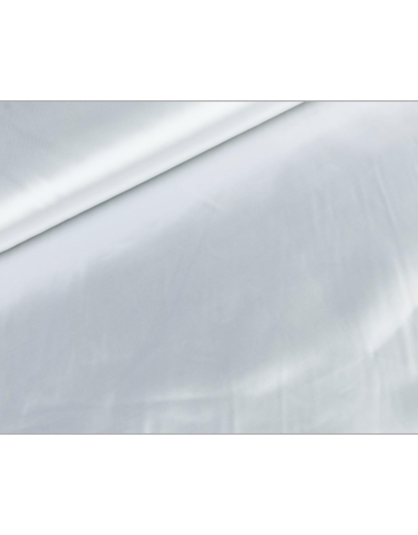 Satijn stof Wit