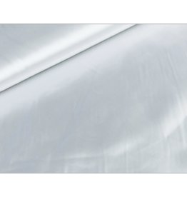 Satin fabric White
