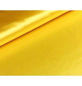 Satijn stof Geel