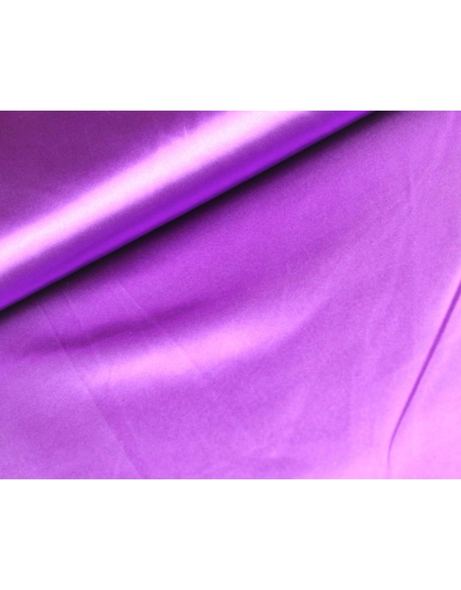 Satin fabric Violet