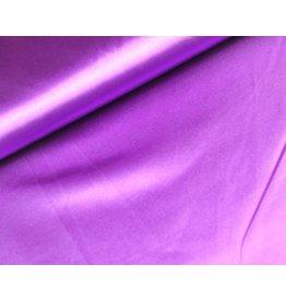Satin stoff Violett