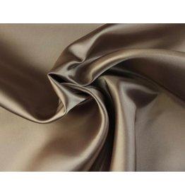 Satijn stof Bronze