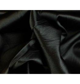 Satijn stof Zwart