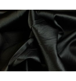 Satin fabric Black