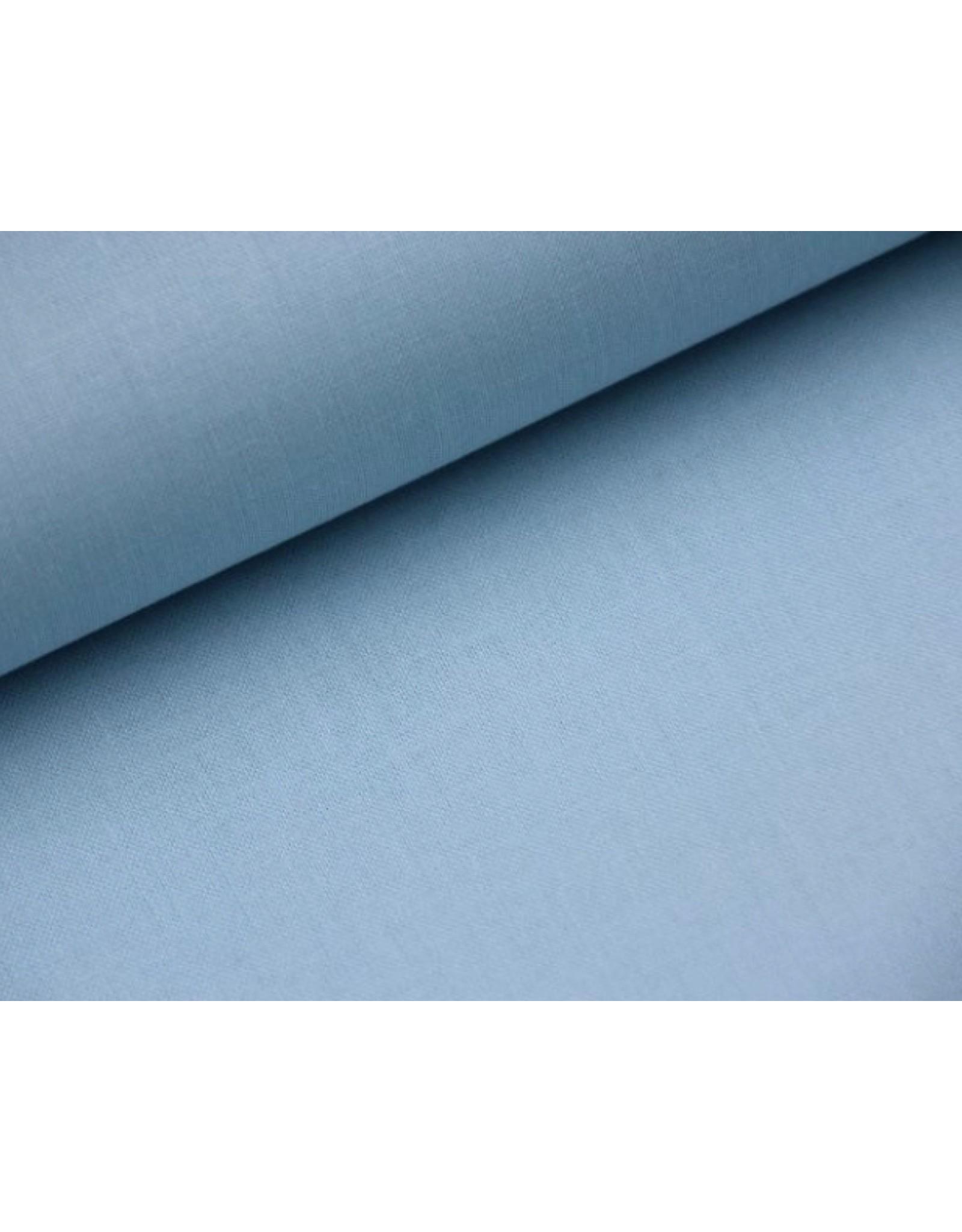 Baumwolle Eisblau