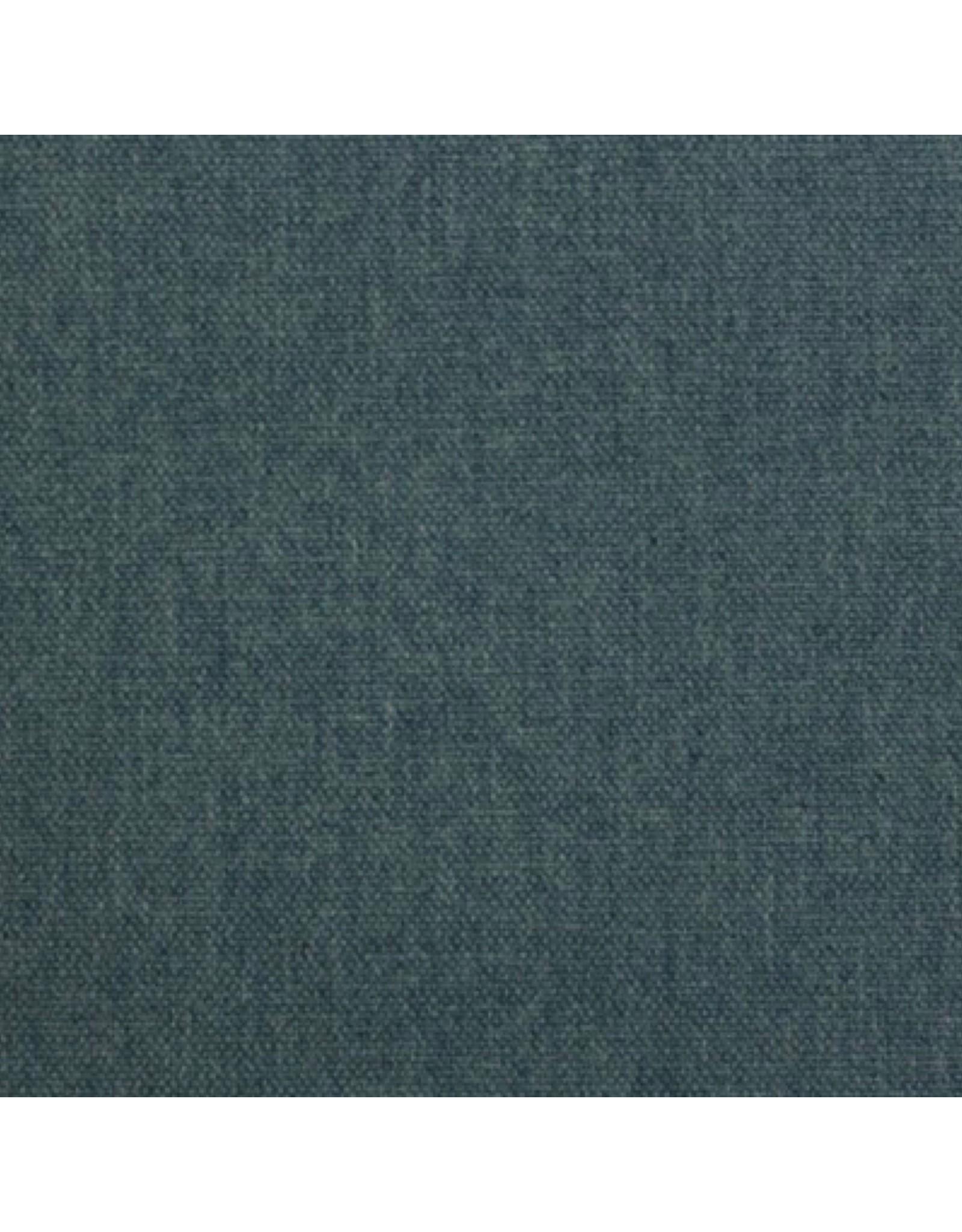 Canvas stof Jeans melange