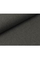 MKanvas stoff DK Grau melange