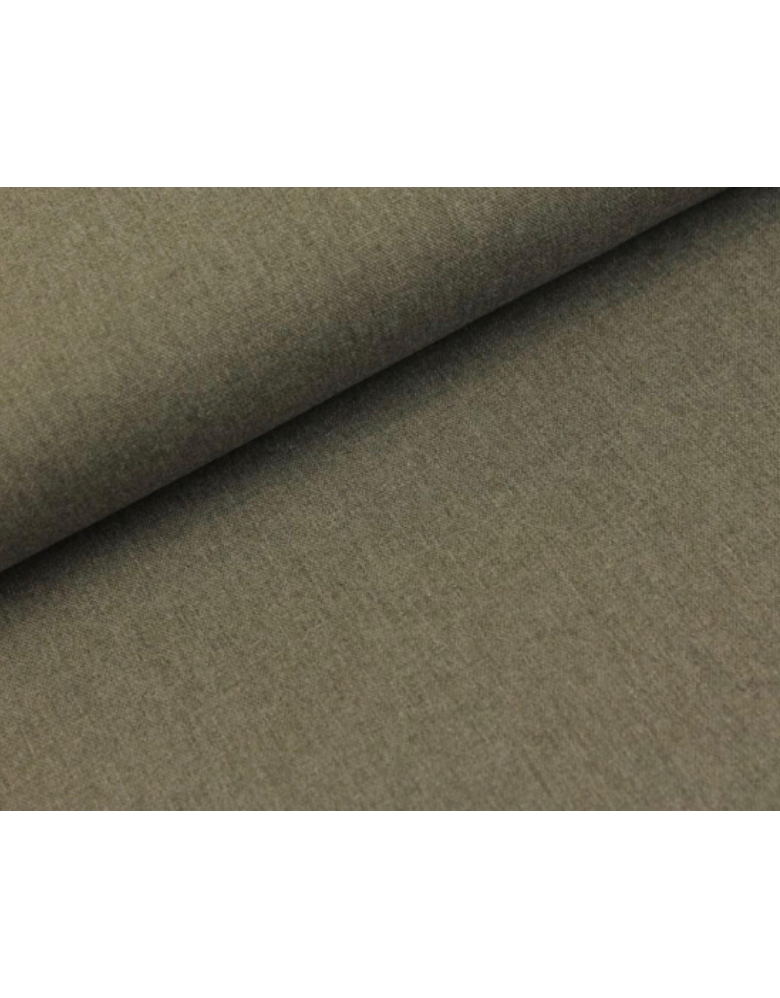 Canvas fabric Light Grey melange