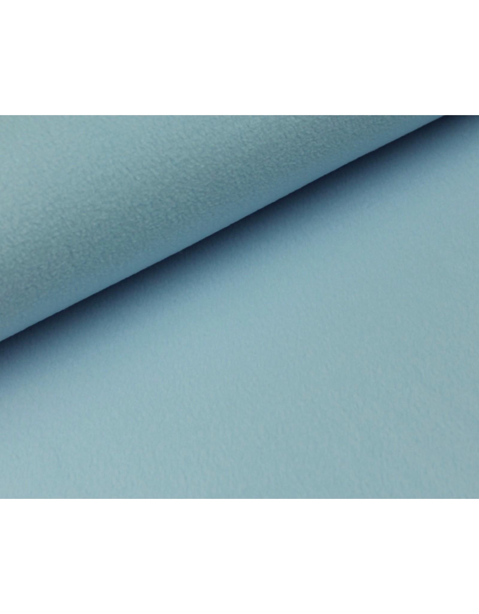 Polar Fleece stoff Eisblau