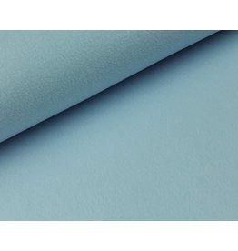 Polar Fleece stof ijsblauw