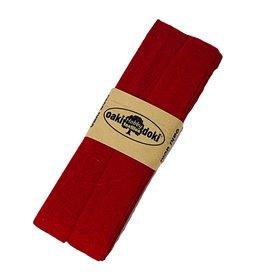 Biaisband tricot 3 m - Rood