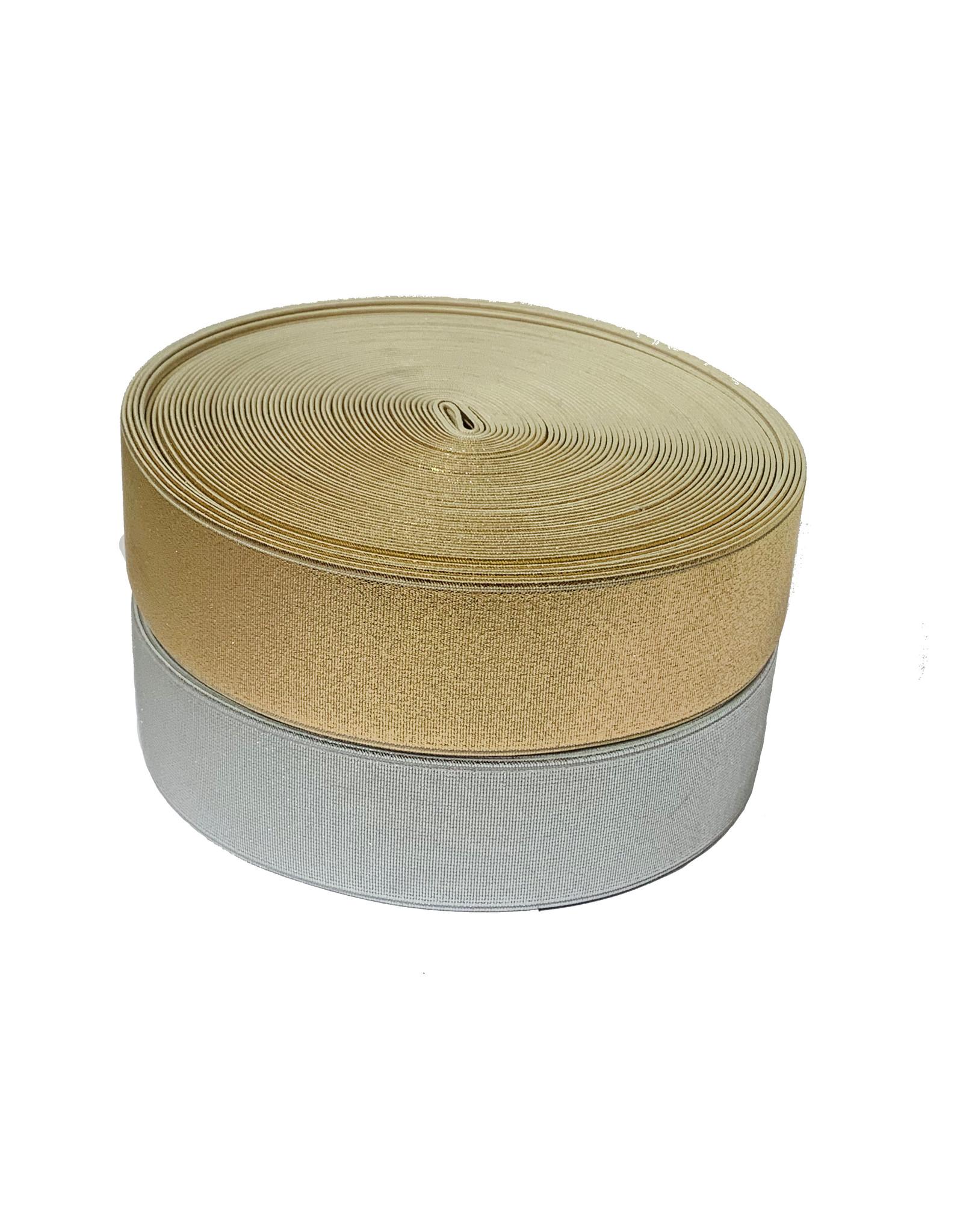 Gold / Silver Elastic 40 mm