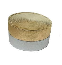 Gold / Silber Elastisch 40 mm