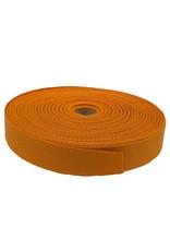 Keperband Katoen 30 mm oranje