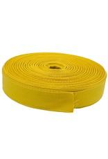 Keperband Katoen 30 mm geel