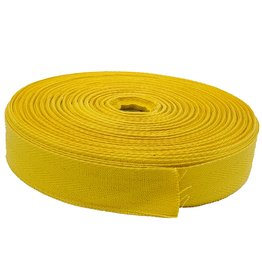 Twill tape cotton 30 mm yellow