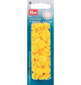 Prym Color Snaps 12,4 mm geel