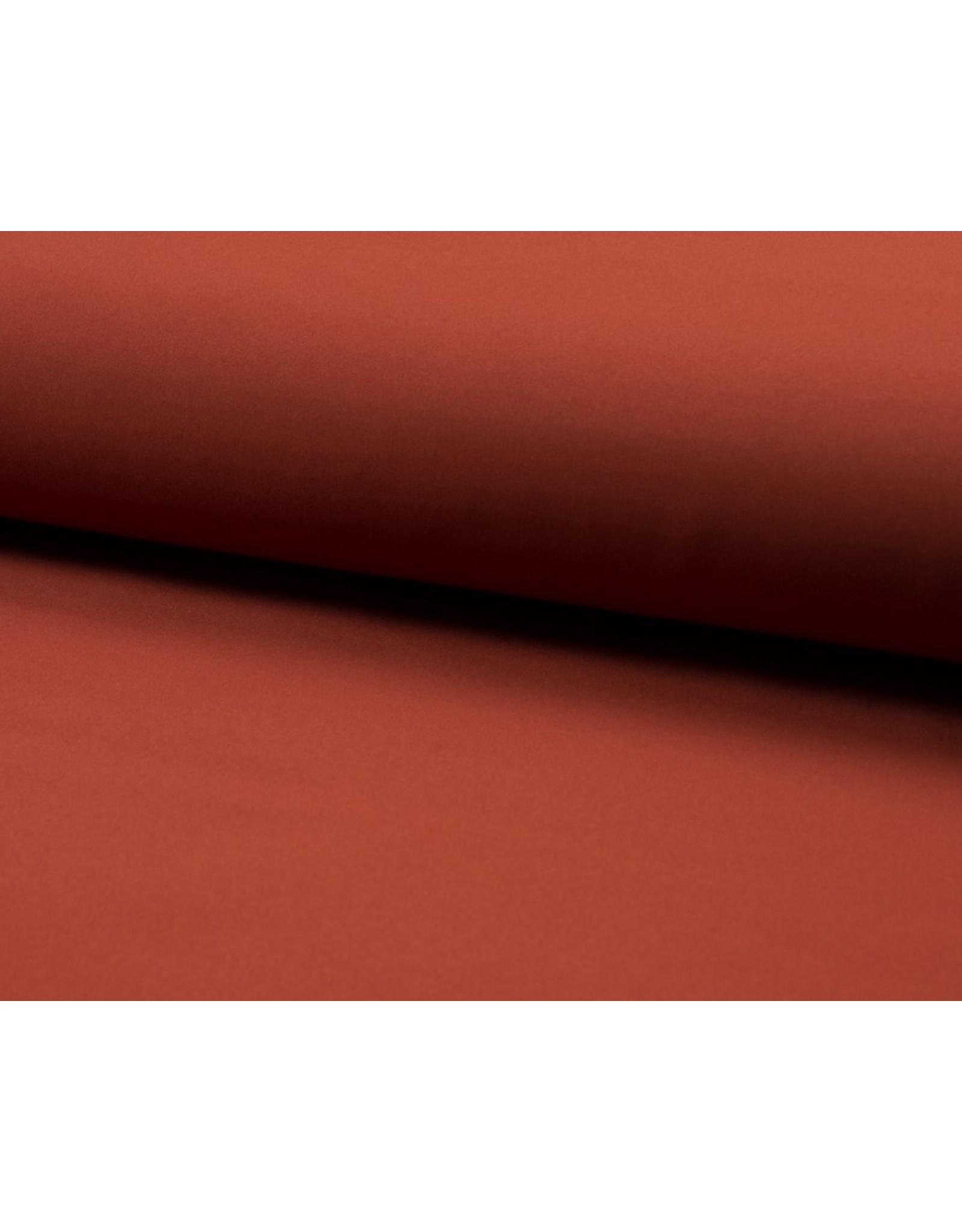 Softshell stof Uni - Terra