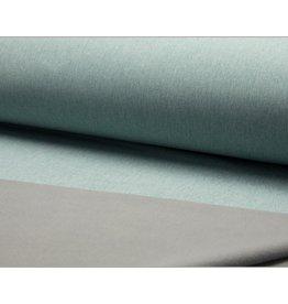 Softshell stoff Uni - Mint Melange