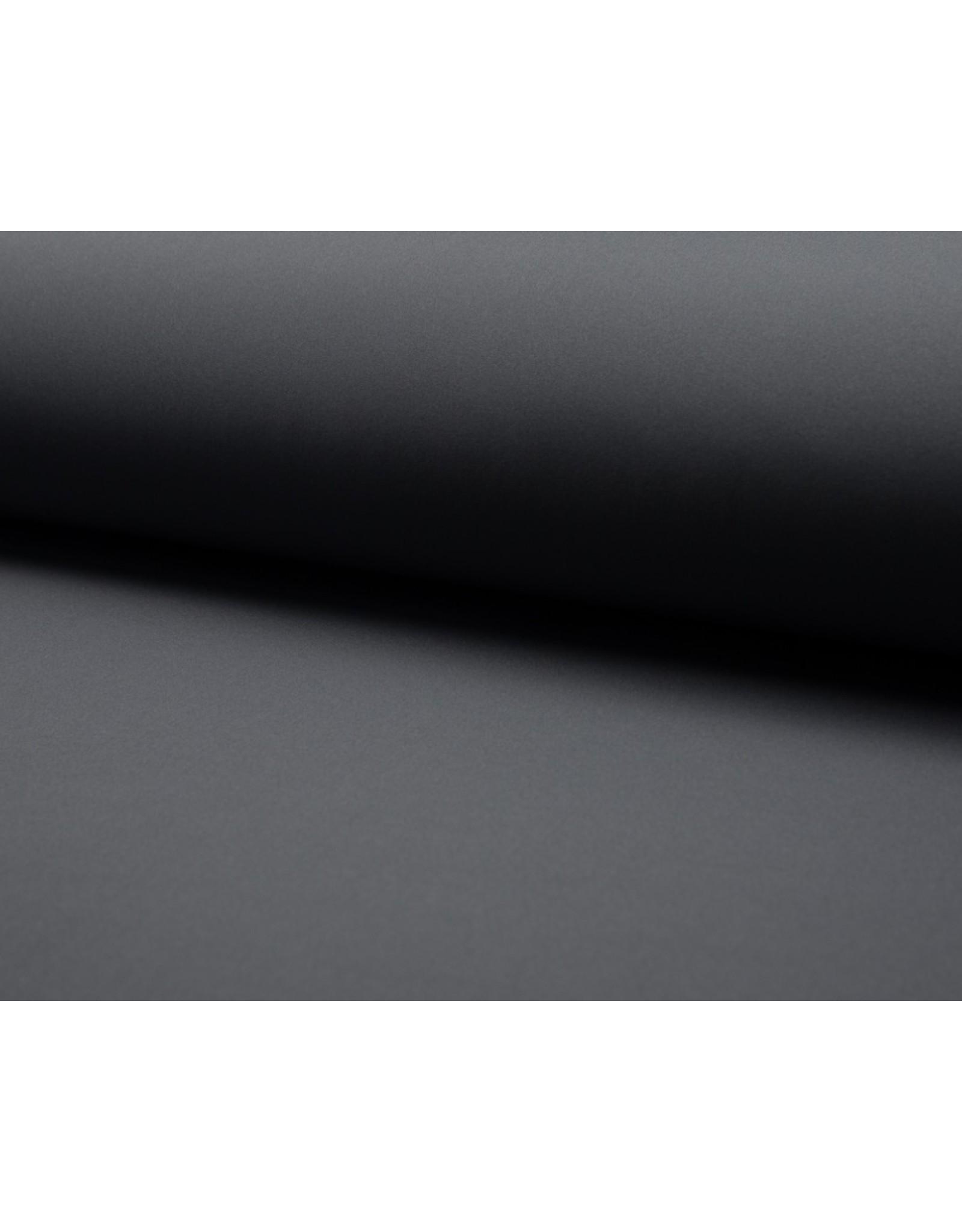 Softshell stof Uni - Grijs
