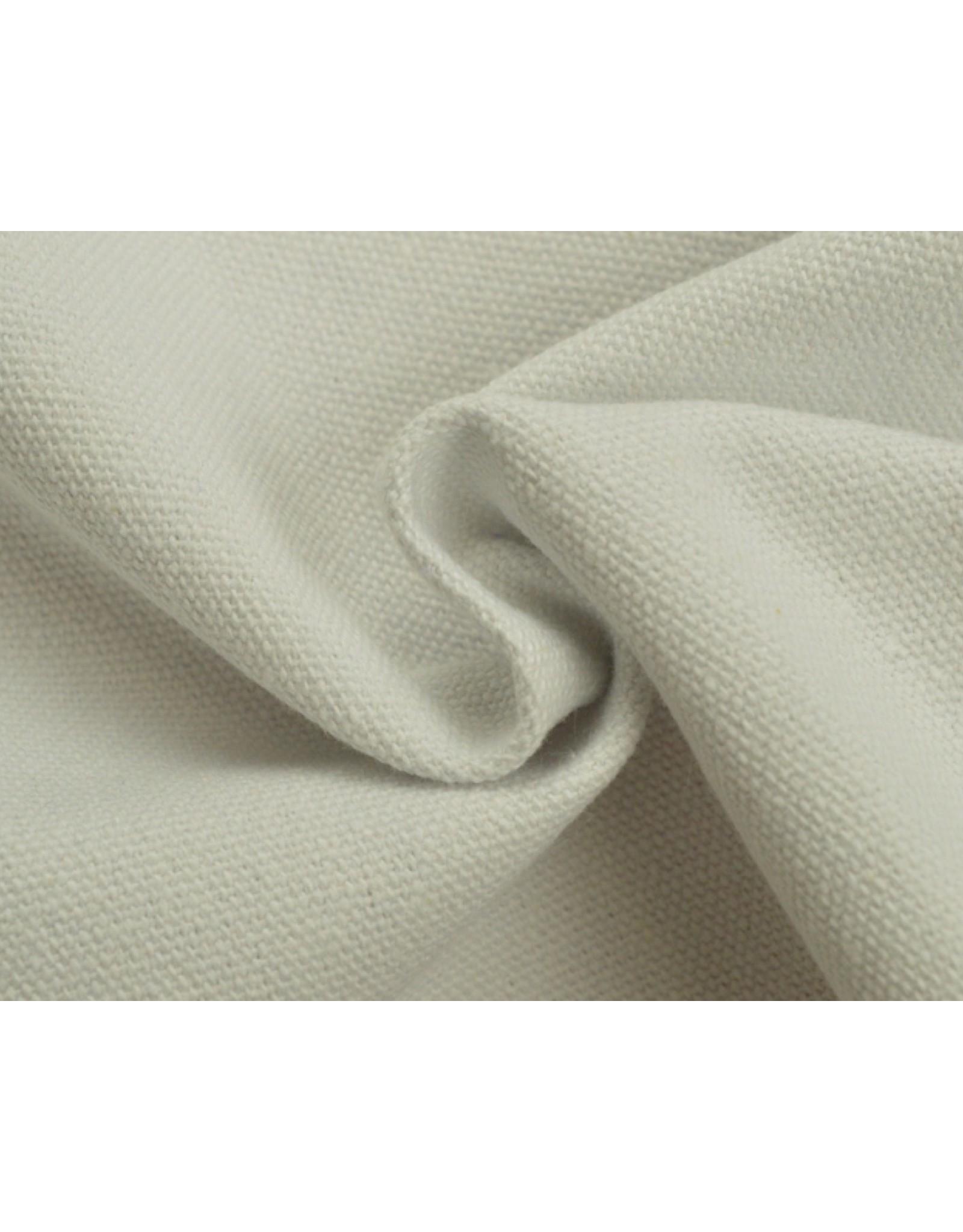 Kanvas stoff Uni - Weiss (350 gr/m)