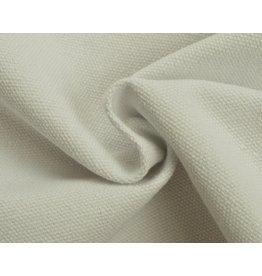 Canvas stof Uni - Wit (350 gr/m)