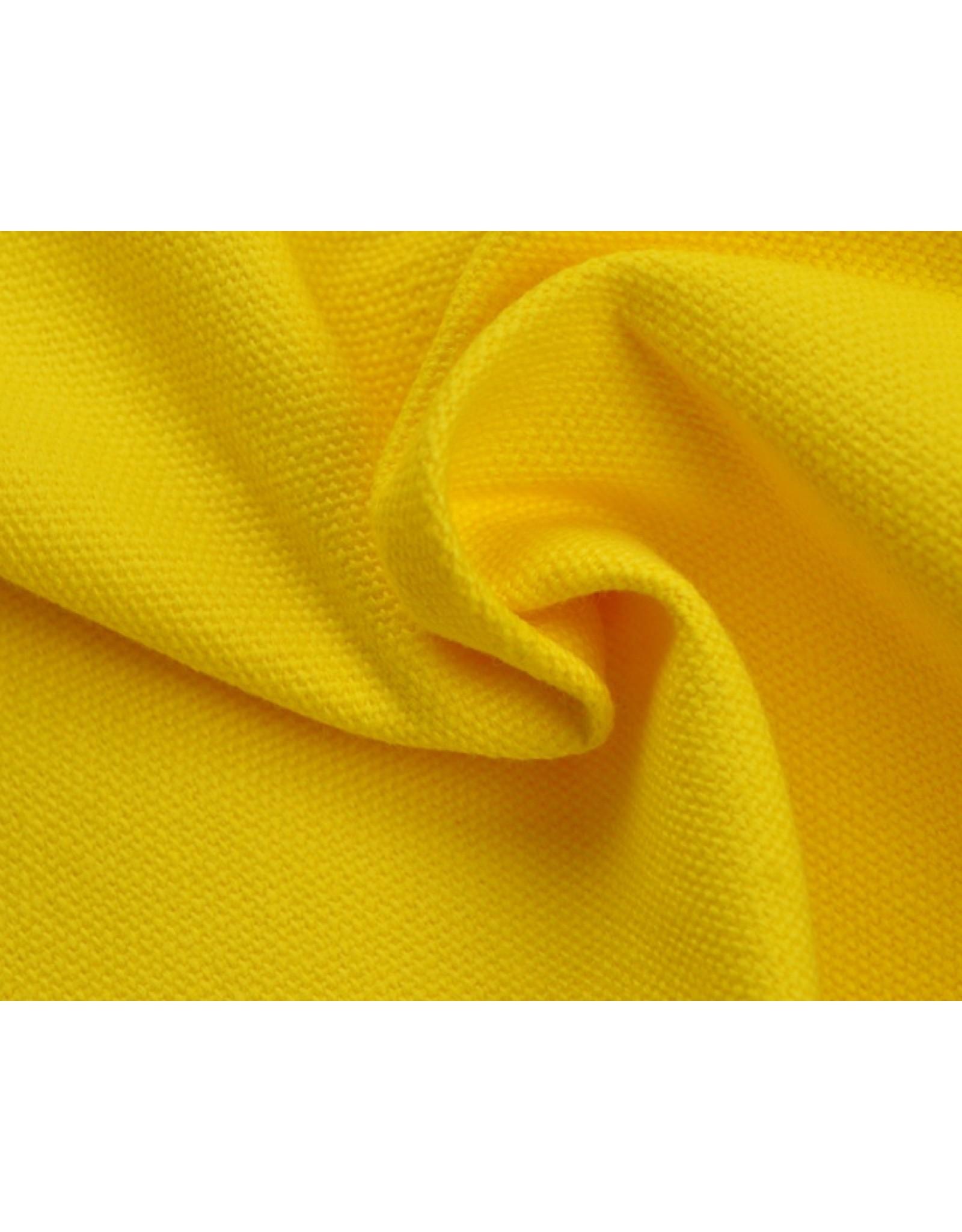 Canvas stof Uni - Geel (350 gr/m)